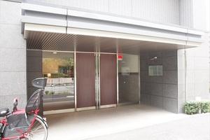レーベンシティオリスタイル東京亀戸のエントランス