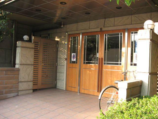 レクセルマンション石神井公園第2のエントランス