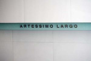 アルテシモラルゴの看板