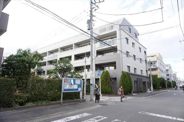 クレストフォルム武蔵新城サウススクエアの外観