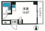 トップルーム新宿公園第2の間取り