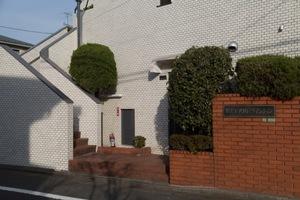 駒沢キソウパークマンションのエントランス