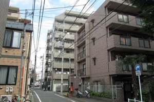 シーアイマンション東中野パークサイドの外観