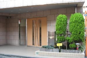 ランドール高円寺のエントランス