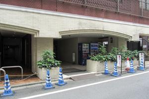 ライオンズプラザ新宿のエントランス
