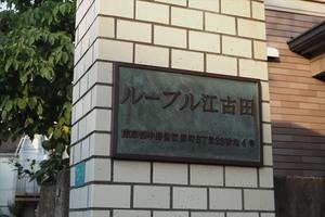 ルーブル江古田の看板