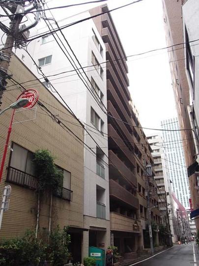 アヴァンティーク銀座2丁目弐番館の外観