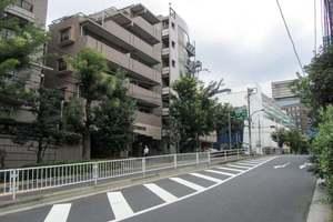 ライオンズステージ渋谷松見坂の外観