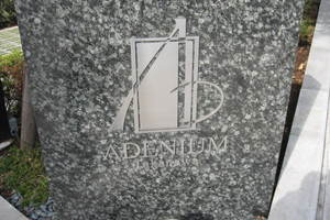 アデニウム高輪の看板