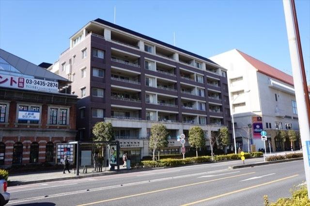 ランドシティ横濱本牧ロイヤルスクエアの外観
