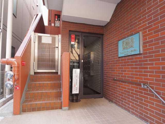 ライオンズマンション塩田駒込のエントランス