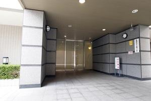駒込パークハウスのエントランス