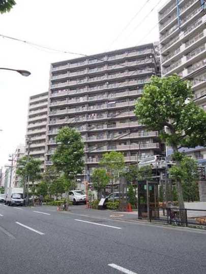カーサ浅草桜橋の外観