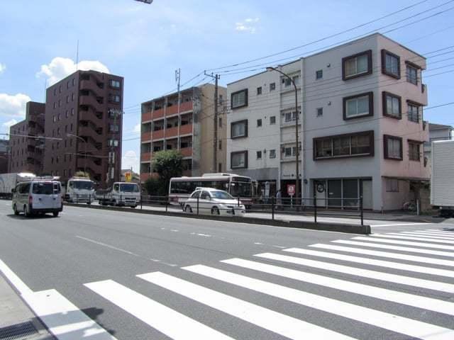 マンション柿ノ木坂の外観