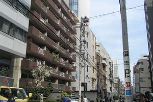 恵比寿東海マンションの外観