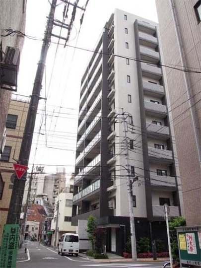 ウィルリベール東京入谷の外観