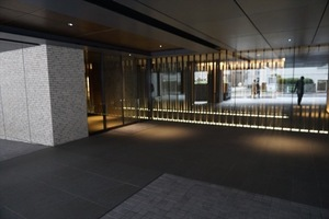フォレセーヌ赤坂檜坂のエントランス
