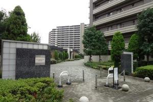 ザレジデンス東京イーストレジデンス1のエントランス