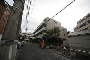 大井仙台坂パークハウスの外観
