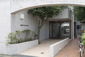 上野毛パークホームズのエントランス