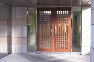 クリオ尾山台壱番館のエントランス