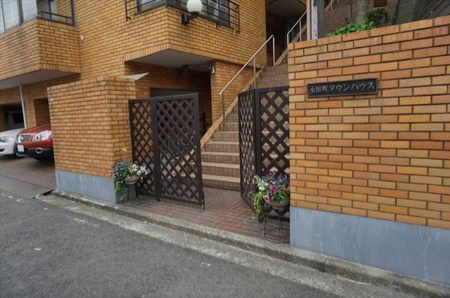 永田町タウンハウスのエントランス