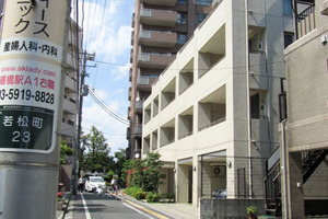 ブリリア新宿若松町idの外観