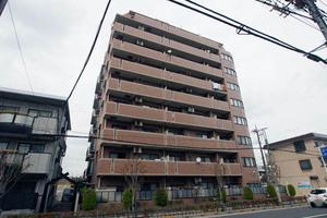 ライオンズガーデン西新井大師弐番館の外観