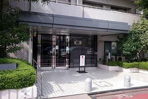 蒲田シティハウスのエントランス