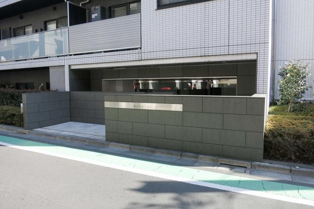 パークレーン渋谷本町のエントランス