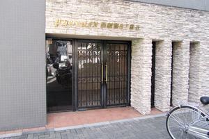 トーシンフェニックス西新宿5丁目弐番館のエントランス