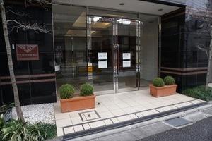 クリオ文京本駒込のエントランス