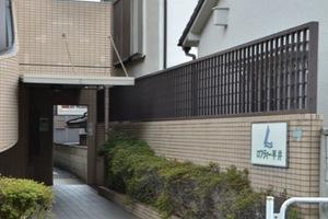 ロフティー平井のエントランス