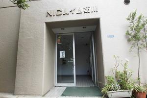 ニックハイム菊川のエントランス
