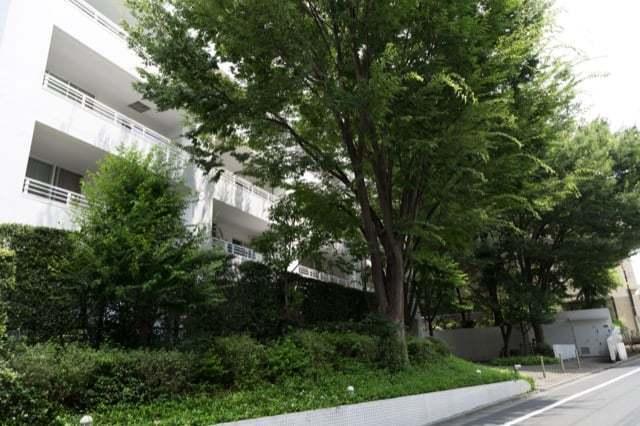 桜台パークホームズコンソートの外観