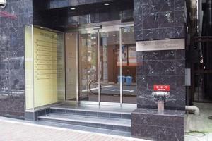東武ハイライン銀座2丁目のエントランス