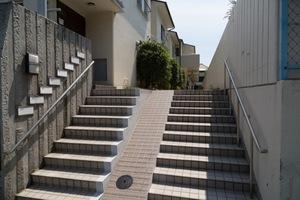 上野毛タウンホームのエントランス