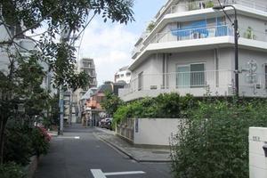 戸山マンションの外観