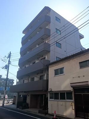 スカイコート武蔵新田の外観