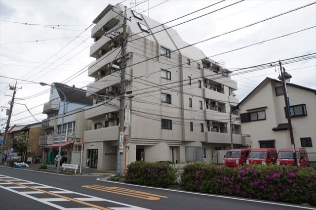 横浜南ダイカンプラザシティの外観
