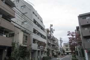 クリオ中野坂上1番館の外観