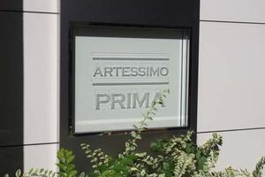 アルテシモプリマの看板