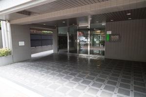 ダイヤモンドスクエア桜台1のエントランス
