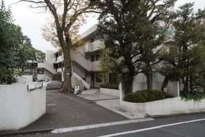 上野毛ガーデンハイツの外観