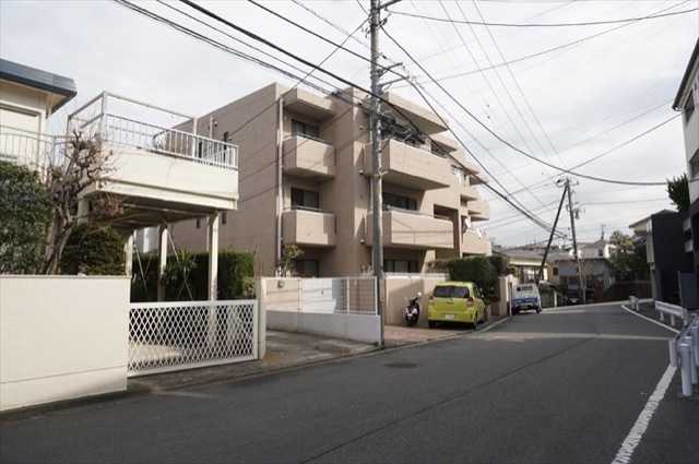 横浜高島台シティハウスの外観