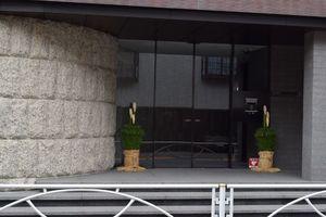 ウェリス目黒大岡山のエントランス