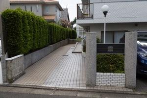 日興ロイヤルパレス石神井公園のエントランス