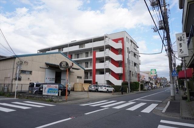 パルミナード武蔵新城3番館の外観