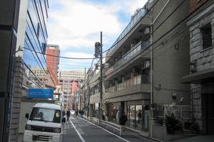 パークノヴァ渋谷の外観