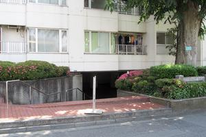 パイロットハウス北新宿のエントランス